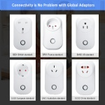 Iot Smart Home Wireless WiFi Remote Control Power Plug Socket Support Power Metering Function