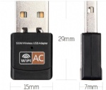 AC 600 Dual band Realtek RTL8811AU mini usb wifi adapter