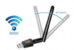 802.11AC  600Mbps dual band wireless wifi dongle with external antenna